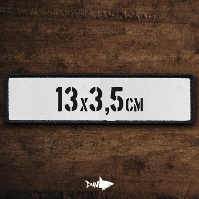 Name Tag 13x3,5 pers.
