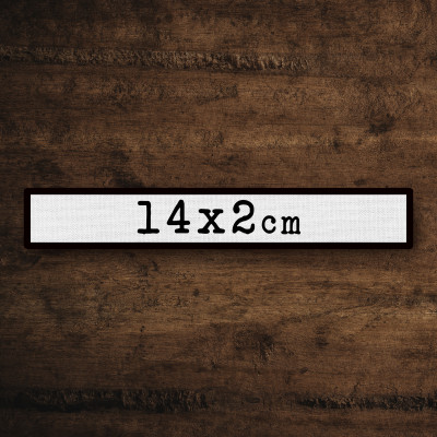 Name Tag 14x2 pers.
